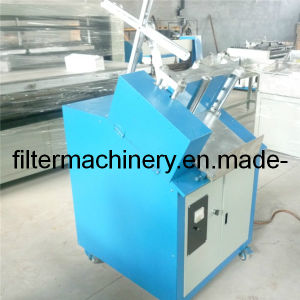 Upright Type Filter Paper Clipping Machine for Oil and Fuel Filter