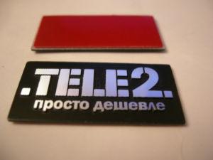Cusotmized Metal Emblem & Label, Metal Sticker, Zinc-Alloy Sticker pictures & photos
