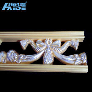 Interior Decorative Polyurethanes (PU) Crown Cornices Moulding pictures & photos