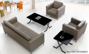 Cheap Modern Furniture Design Office Furniture Single Leather Sectional Sofa pictures & photos