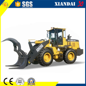 Xd935g 3ton Wood Crane Loader Wood Clamp Hot Sale with Quick Coupler pictures & photos