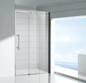 Latest Big Roller Sliding Shower Door pictures & photos