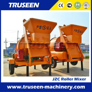 Jzc350 Roller Drum Concrete Mixer Construction Equipment with Hydraulic Type pictures & photos