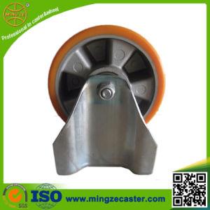 Industrial Aluminium Center PU Caster pictures & photos