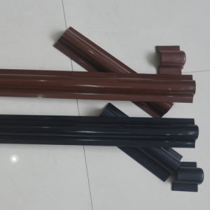 PVC Cable Riser Guard in Brown and in Black pictures & photos