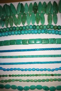 Semi Precious Stone Turquoise Natural Crystal Beaded Necklace pictures & photos