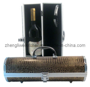 Aluminium Wine Box Set (608329-A) pictures & photos