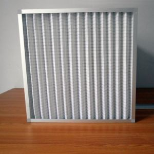 Pleated Pre Air Filter Panel Filter for Workshop pictures & photos