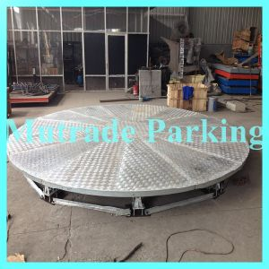 China Economic High Quality Car Rotating Platform pictures & photos