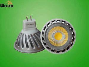 DC12V COB LED Spot Light MR16 Gu5.3 with High Lumen 400lm 80ra pictures & photos