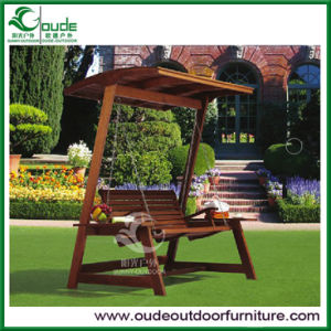 Outdoor Garden Solid Wood Swing