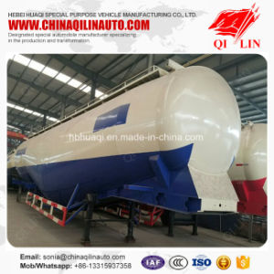 Hot Sale 80t Payload Powder Material Tank Trailer for Pakistan pictures & photos
