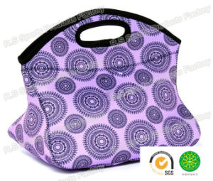 Fashion School Neoprene Insulated Lunch Bag for Kids