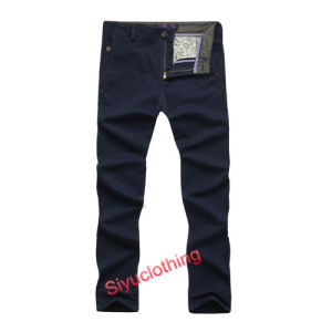 Men′s Casual Chino Fashion Long Trousers Pants (P-1505) pictures & photos