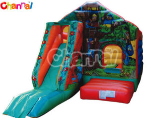 Jungle Inflatable Jumping Bouncer Combo Slide Bb279 pictures & photos
