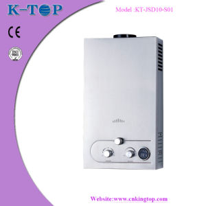 10L S/S Panel Gas Water Heater with LCD