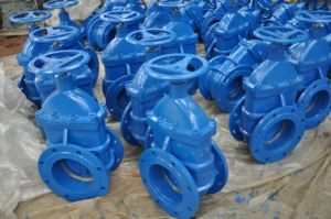 DIN Cast Iron Metal Seated Gate Valve with Good Quality