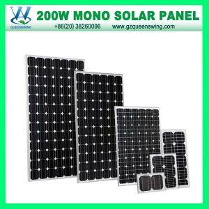 200W Hight Quanlity Monocrystalline PV Solar Panel (QW-M200W) pictures & photos
