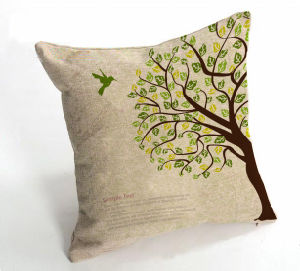 Nature Color Polyester Linen Pillow pictures & photos