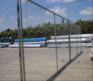 6FT*10FT USA Galvanized Temporary Construction Chain Link Fence pictures & photos