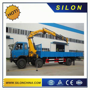 China Silon 8ton Truck Mounted Crane Sq8zk3q with Telescopic Boom pictures & photos