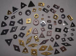 Carbide Inserts with Advanced Coatings
