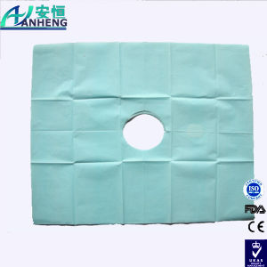 China Wholesale Disposable Medical Surgical Drape with a Hole pictures & photos