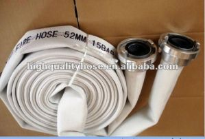 Convas Double Jacket Fire Delivery Hose / Fire Hydrant Hose for Fire Fighting pictures & photos