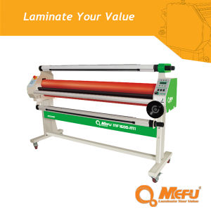 MEFU High Quality Semi-Auto Cold Roll-to-Roll Laminator MF1600-M1 pictures & photos