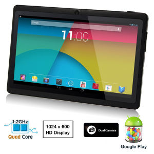 """Cheapest 7"""" Tablet Q88 with A23 Dual Core Dual Cameras Tablet PC"""