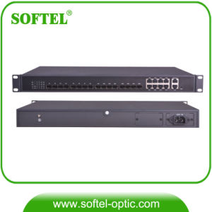 "1U 19"" 1.25Gbps FTTH Epon OLT with 8 Downlink Pon Ports pictures & photos"