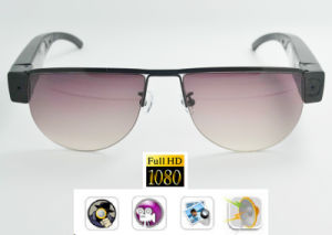 Sport Camera Full HD 1080P Eyewear Mini Video Recorder Nylon Polarised Lens pictures & photos
