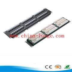 UTP 24 Ports Cat5e/Cat6e Patch Panel pictures & photos