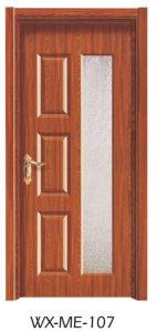Low Price Excellent Quality Hotsale Melamine Door (WX-ME-107) pictures & photos