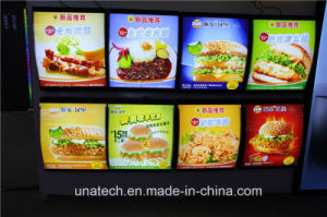 Aluminum Snap Frame Food Mcdonald′s Kfc Menu LED Board Light Box pictures & photos