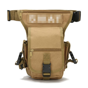 New Canvas Sports Racing Drop Leg Bag /Waist Bag /Fanny Pack for Man Woman Motorcycle Cycling Workout Vacation Hiking. pictures & photos