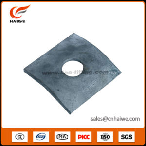 Hot-DIP Galvanized Steel Curved Washers pictures & photos