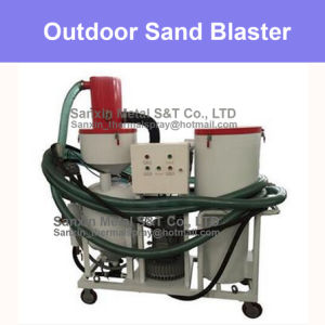 Outdoor Sand Shot Blasting Machine Sandblaster Box Manufacturer Series- Recycle Recycling Material Professional Automatic Equipment