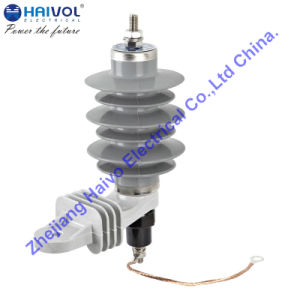 Polymeric Housed Metal-Oxide Surge Arrester without GAPS (YH5W-15) pictures & photos