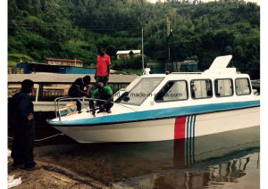Aqualand 25 Feet 7.6m / Fiberglass Cabin Ferry Boat/Water Taxi (760) pictures & photos