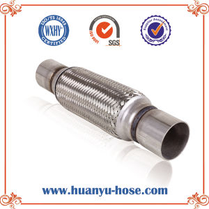 Stainless Steel Auto Exhaust Flexible Pipe with Nipple pictures & photos