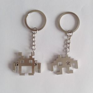 New Fashion Zinc Alloy Key Chain Extra-Terrestrial Key Ring (GH7778)