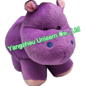 CE Gift Stuffed Animal Pink Dress Hippo Plush Toy pictures & photos