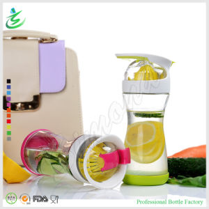 20oz High Quality Glass Bottle with Lemon Juicer Infuser (IB-M4) pictures & photos