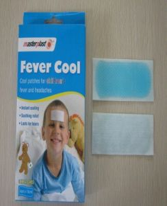 Health Care OEM Printing Cooling Gel Patch Cool Fever Patch pictures & photos