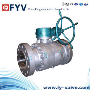 API Trunnion Mounted Ball Valve with Gear pictures & photos