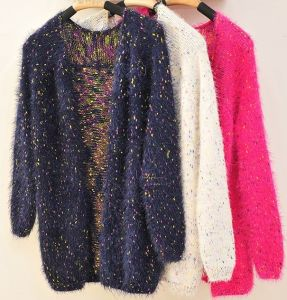 Knitting Cardigan Sweater Coat Thickening pictures & photos