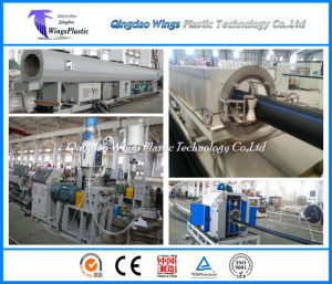 Plastic HDPE Pipe Production Line / Making Machine / Extrusion Machine pictures & photos