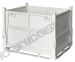 Steel Wire Mesh Storage Container Lk 20A pictures & photos