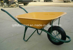 "Wheel Barrow Wb6400 (14""X3"" solid wheel) France Model pictures & photos"